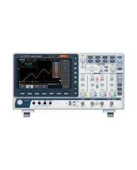 GW Instek MDO 2102EX OZO (Oscilloscopes Mixed Domain Oscilloscope) bandwidth e 100 MHz, 5 në 1.